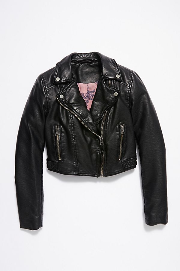Heartache Vegan Moto Jacket