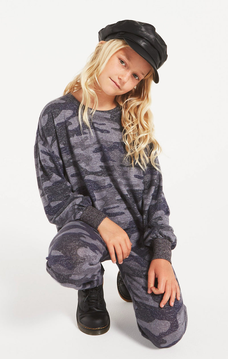 Girls Mayori Camo Long Sleeve