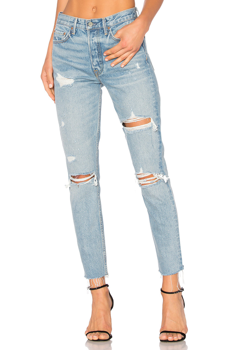 The Karolina High-Rise Skinny Jean