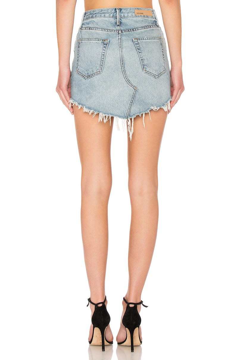 The Tina High-Rise Mini Skirt