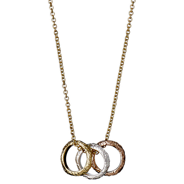 Daisy Gold Plated Necklace