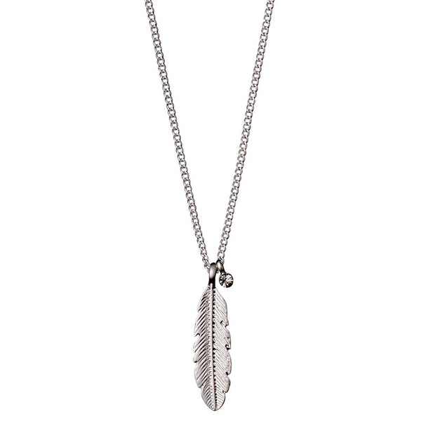Lauren Feather Necklace