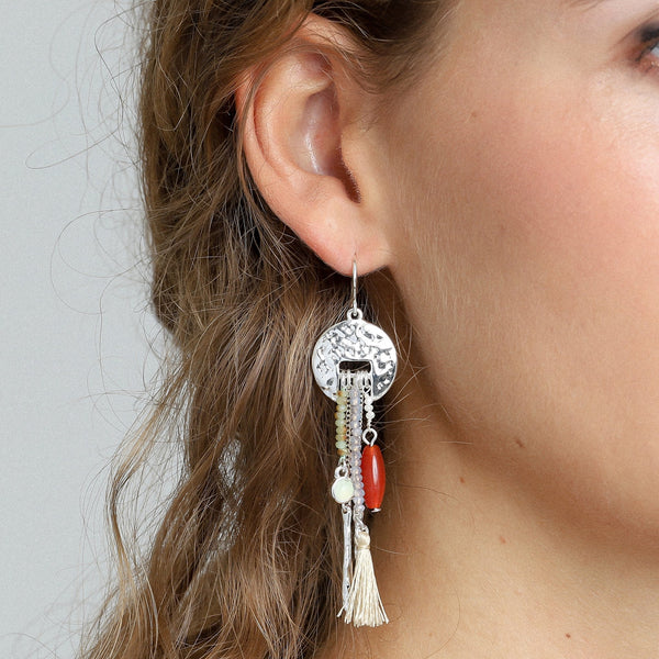 Rumi Silver Plated Earrings