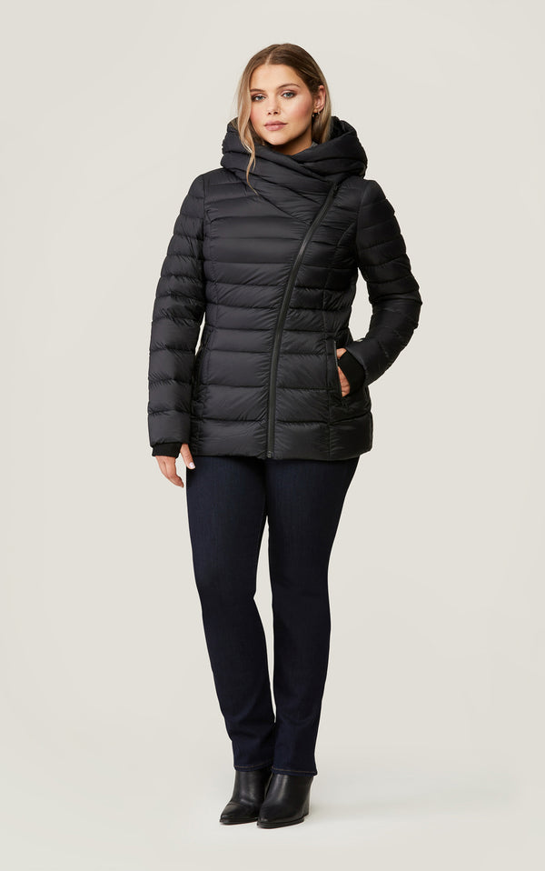 Jacinda Lightweight Down Coat