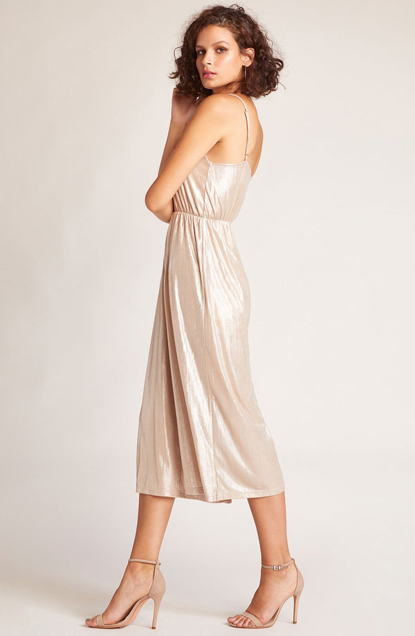 Shine On Metallic Jumpsuit