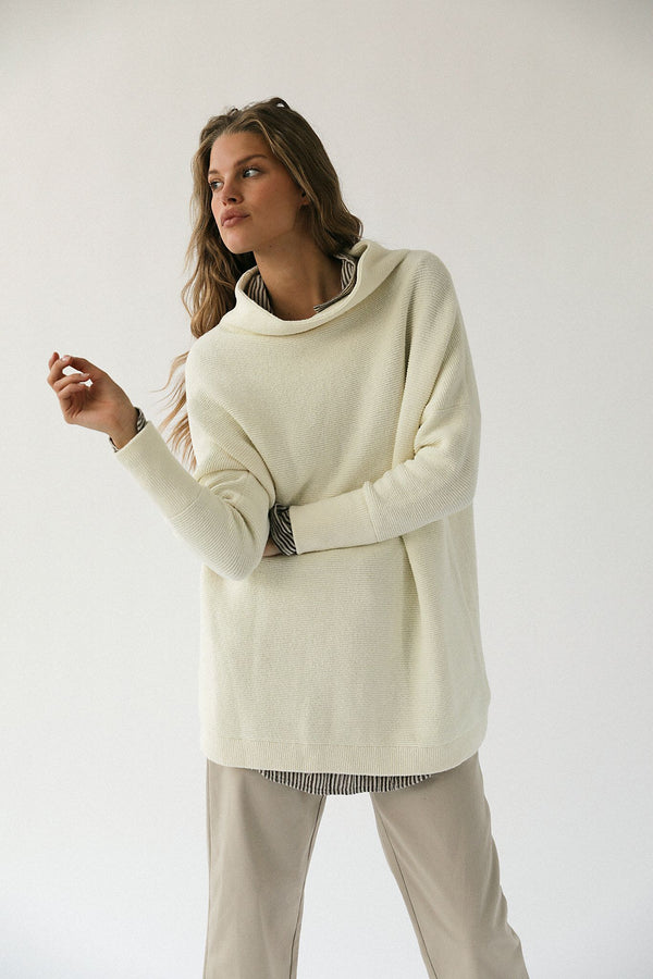 Ottoman Slouchy Sweater