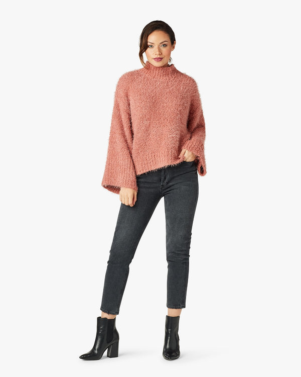 Danyon Mock Neck Pullover