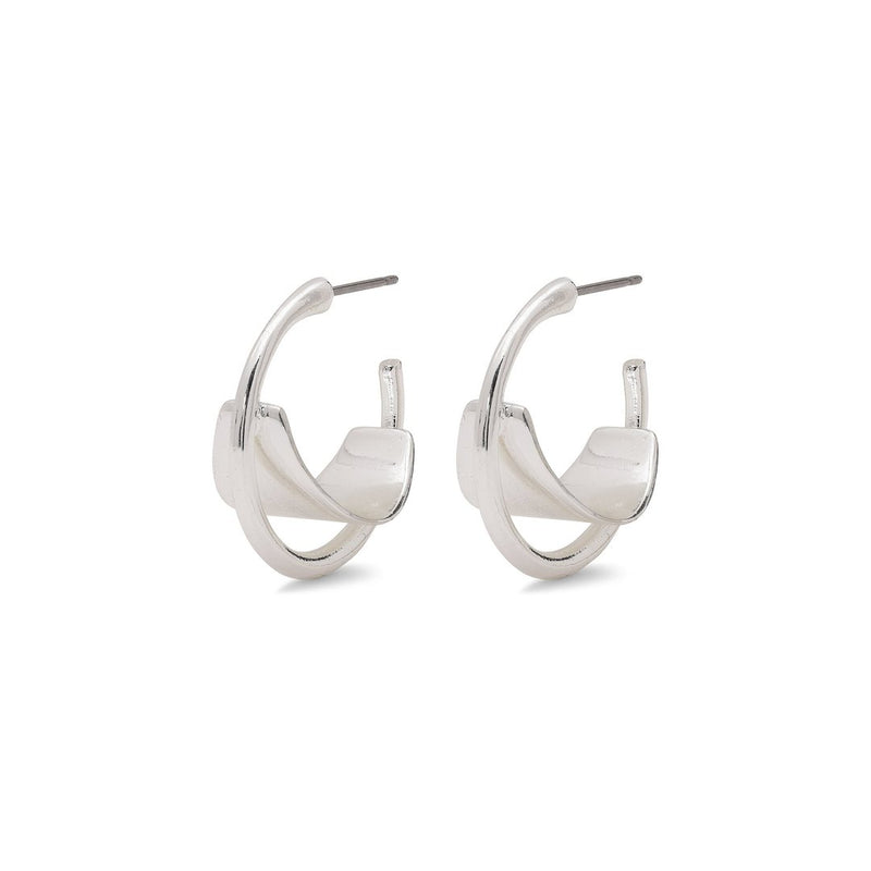 Aya Silver Plated Earrings