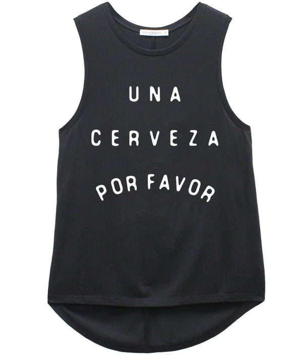 Whitney Muscle Tee, Cerveza