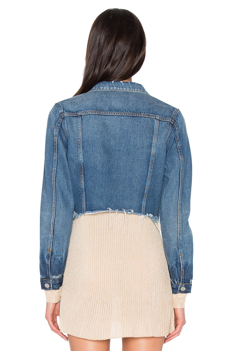 The Cara Cropped Jacket
