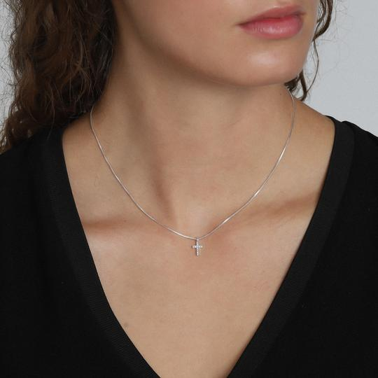 Clara Silver Plated Necklace
