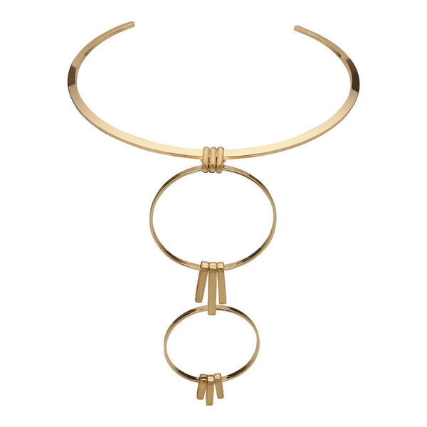 Gold Aviva Necklace II