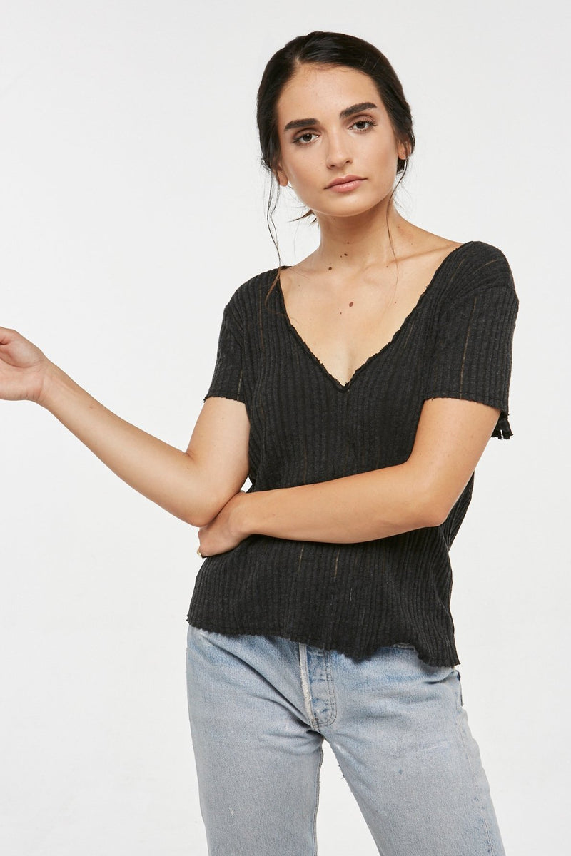 Too Sweet Textured Tee