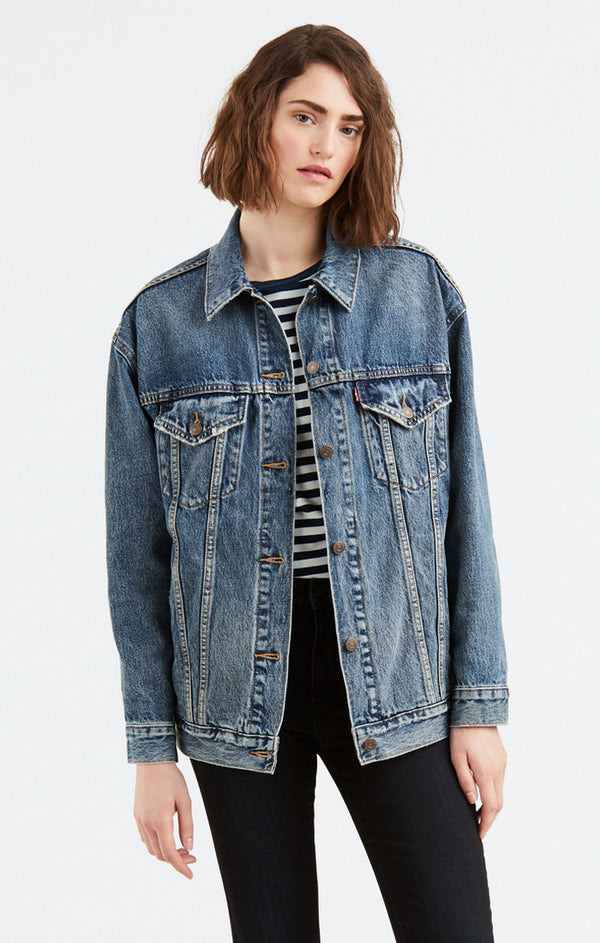 Baggy Trucker Denim Jacket