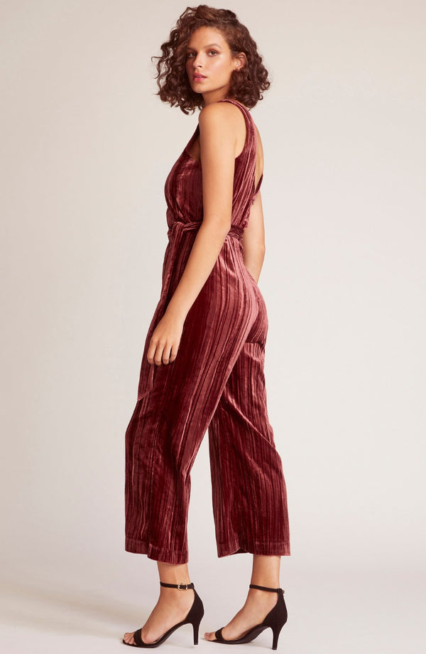 Best Of My Love Velvet Jumpsuit
