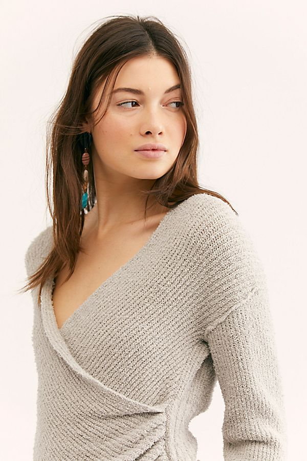Sensual Wrap Sweater