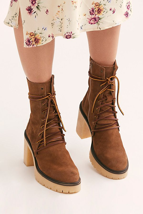 Dylan Lace-Up Boots