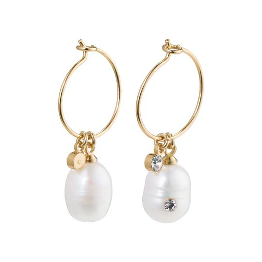 By The Sea Pearl Hoops
