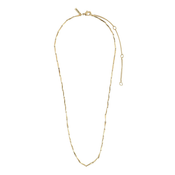 Gold Ingot Classic Chain Necklace