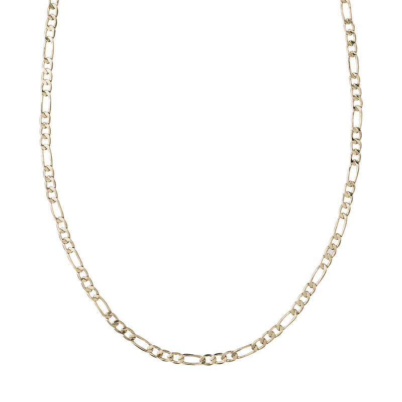 Gold Figaro Classic Chain Necklace