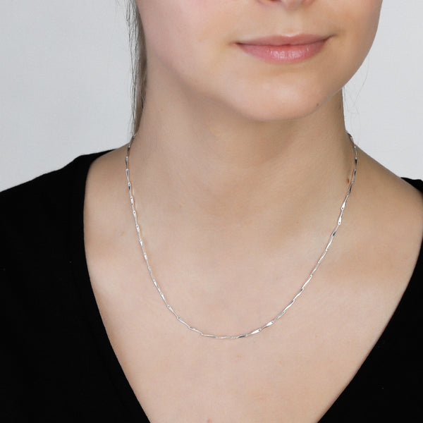Silver Ingot Classic Necklace