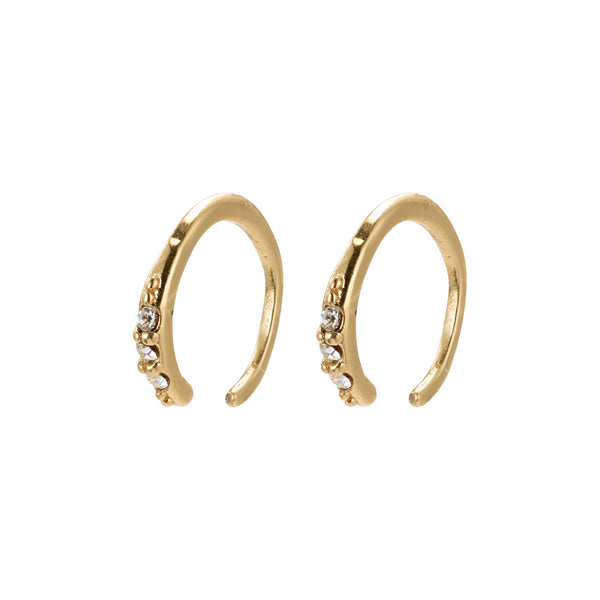 Gold 2-In-1 Mini Half Hoop