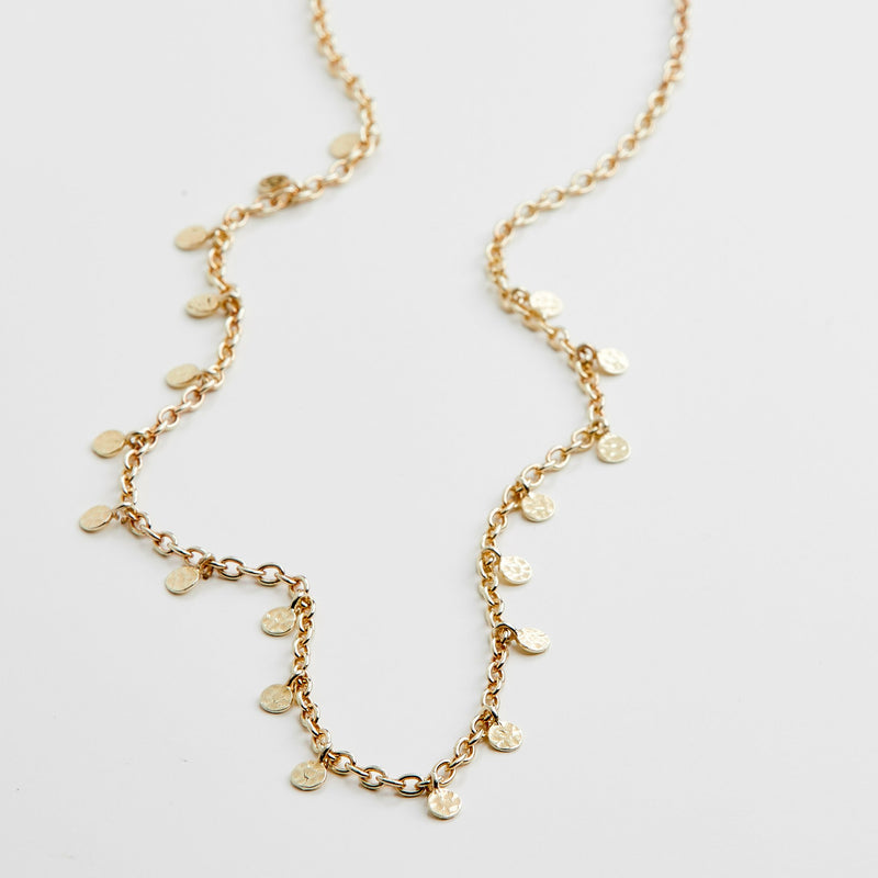Gold Panna Necklace