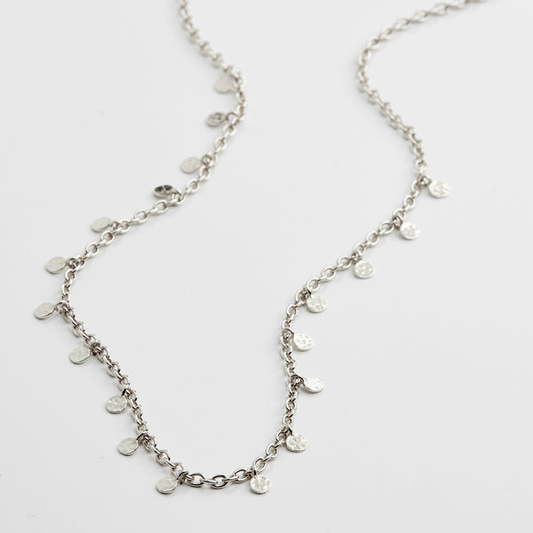 Silver Panna Necklace
