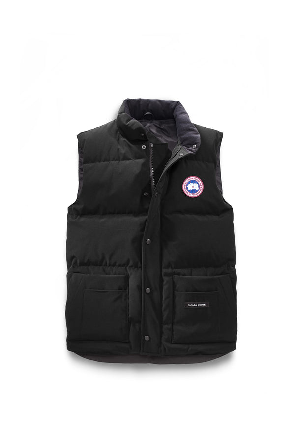Men's Freestyle Crew Vest - Black