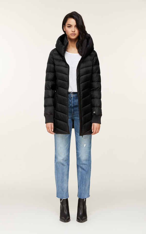 Alanis Lightweight Down Coat