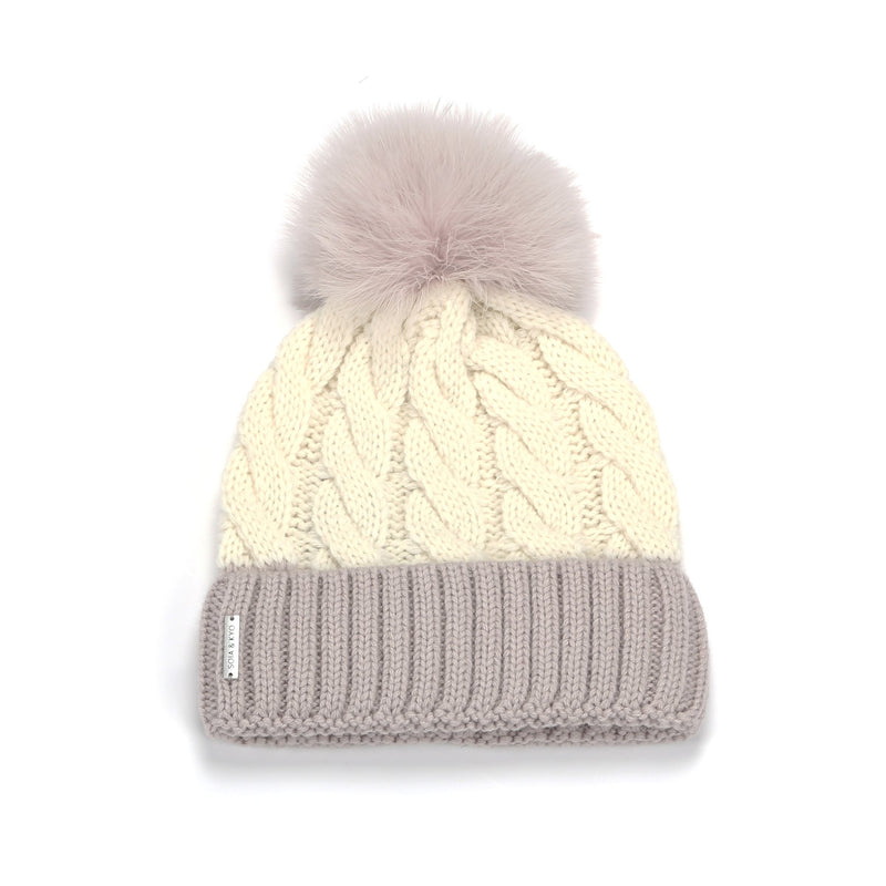 Amalie Feather Pom Toque