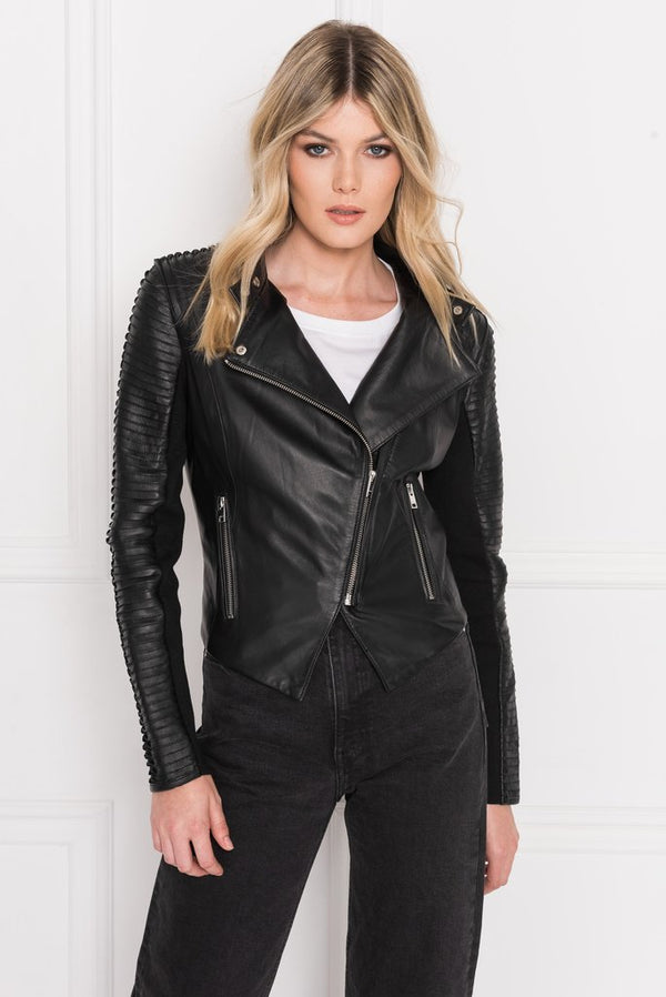 Azra Signiture Leather Jacket