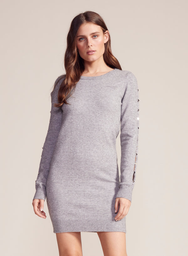 Button Or Nothing Sweater Dress