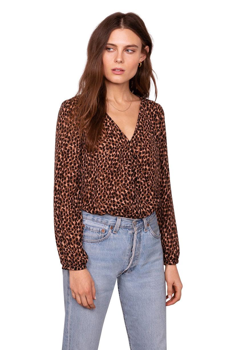 Wild Nothings Leopard Bodysuit