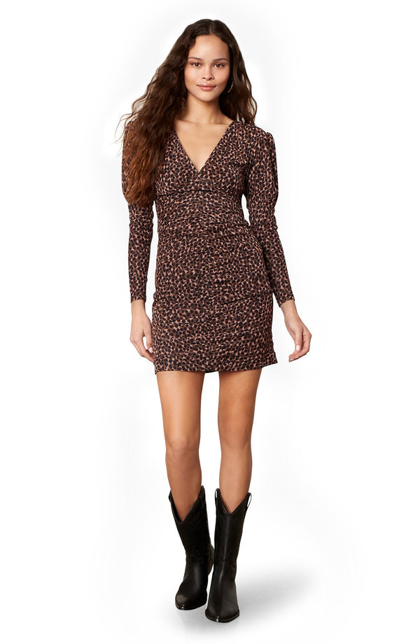 Animal Attitude Leopard Dress