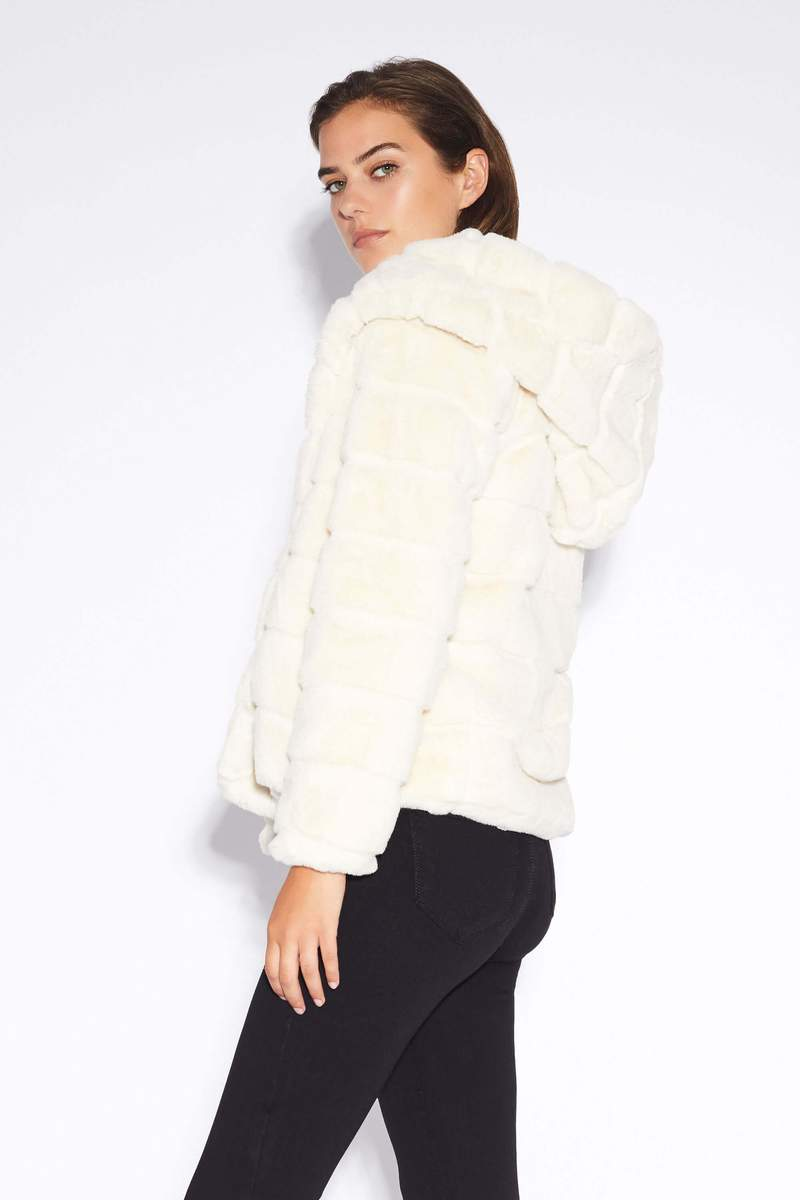 Goldie Faux-Fur Jacket