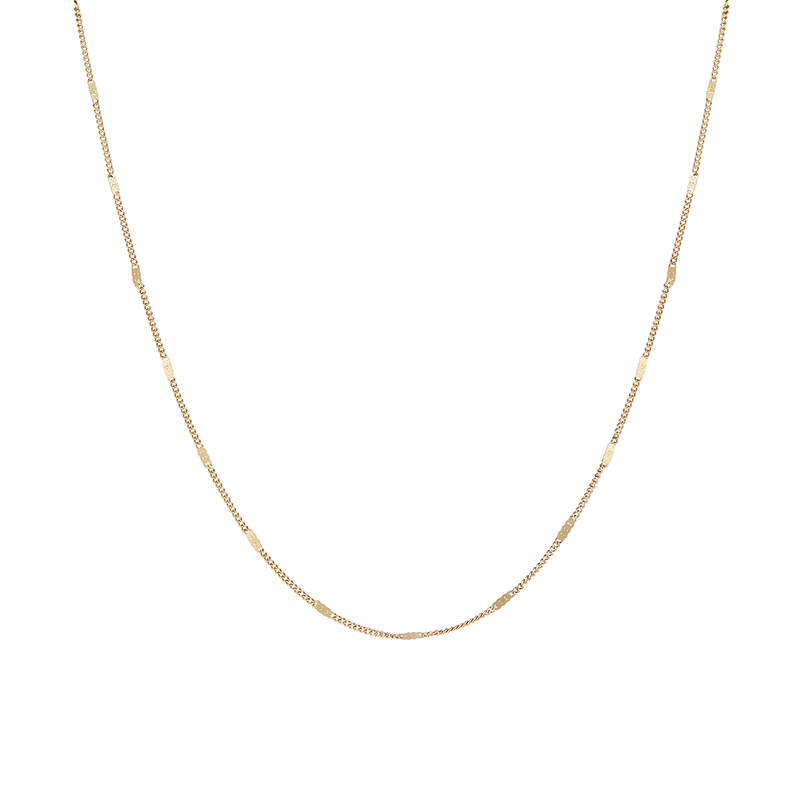 Modernist Monogram Necklace J