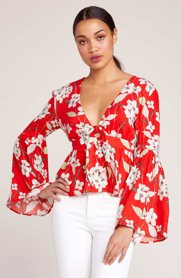 Tiger Lily Bell Sleeve Top