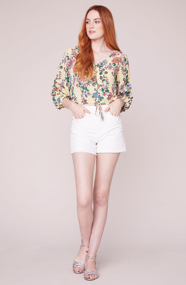 Paper Flowers Blouse