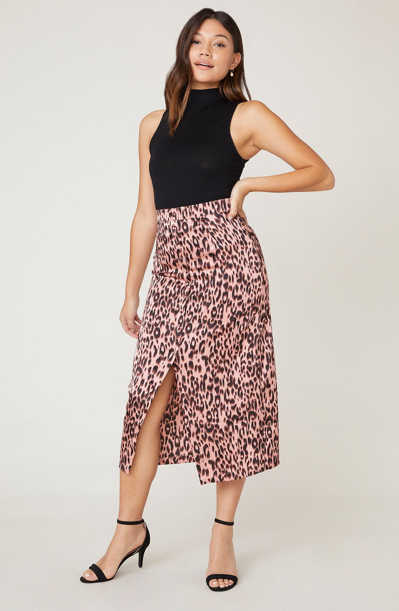 Spotted by Nature Midi Skirt