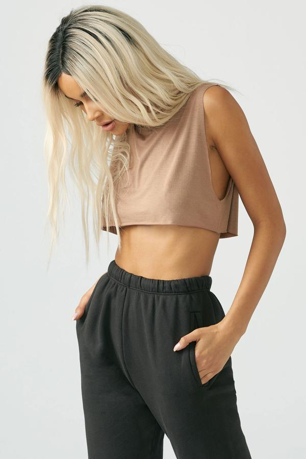 Cropped Muscle Tank