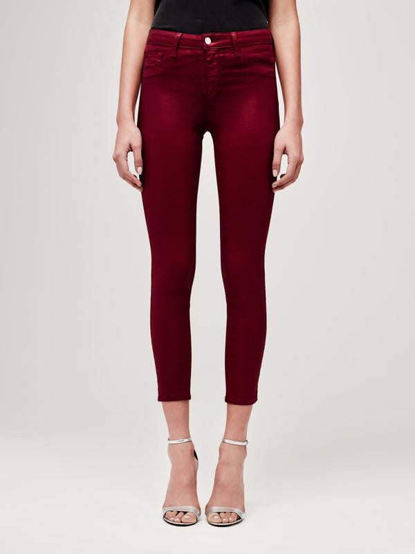 The Margot Skinny Coated Jean