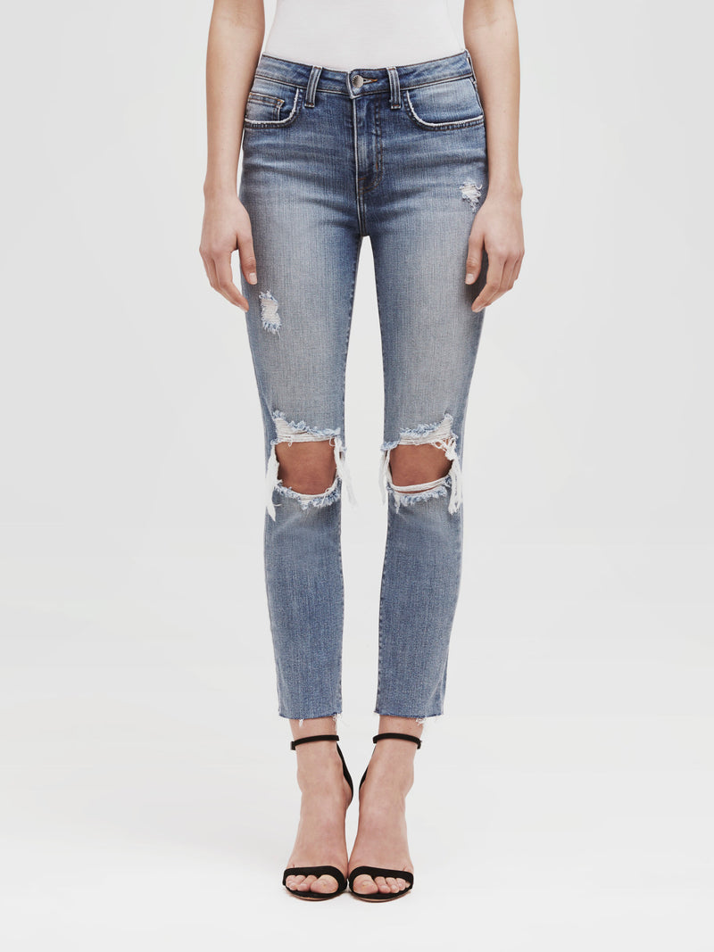 The Audrina Crop Straight Jean