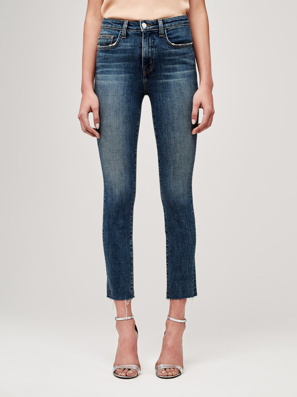 The Luna Slim Straight Jean