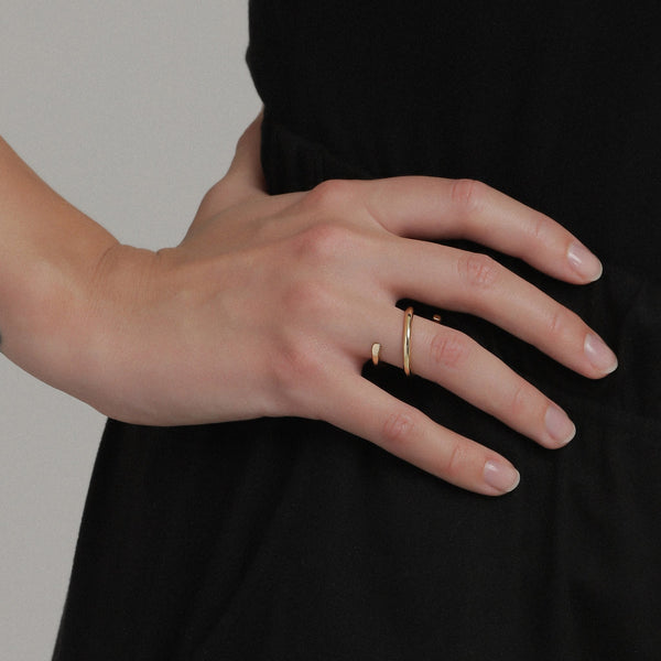 Gold Liva Ring