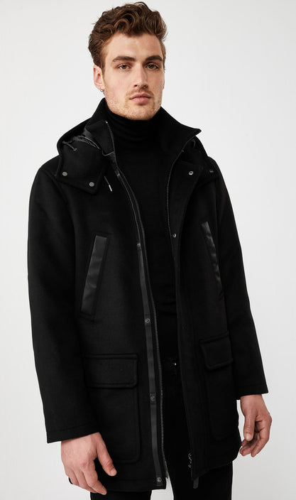 Myles Wool Down Coat