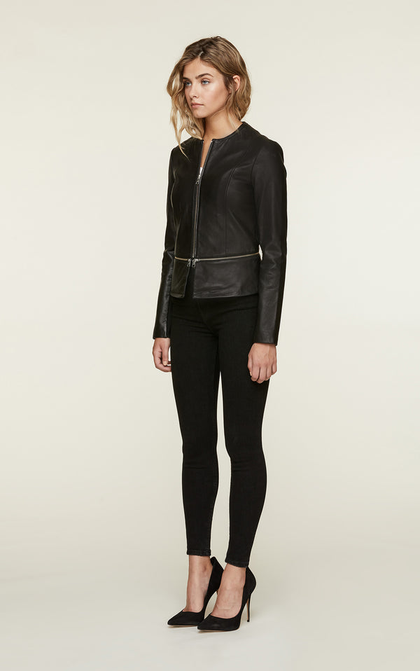 Heidi Leather Jacket