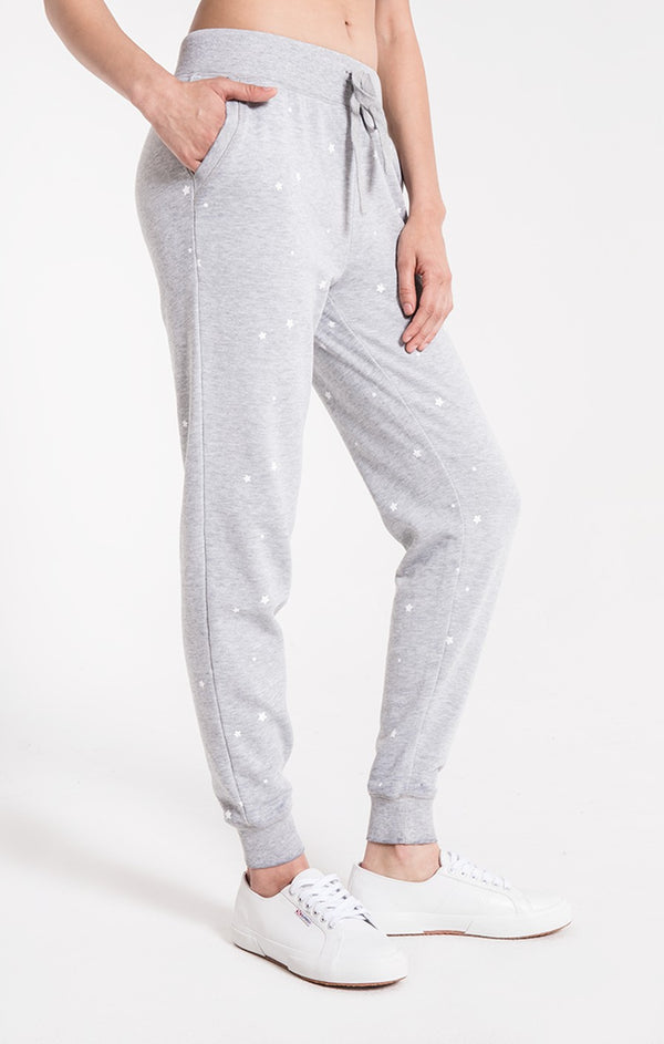 The Star Print Jogger