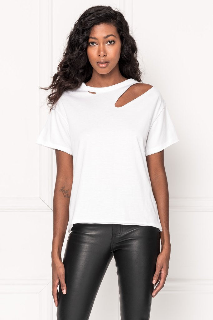 Zasha Distressed T-shirt