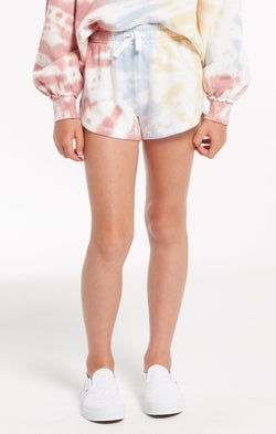 Girls Mia Tie-Dye Short